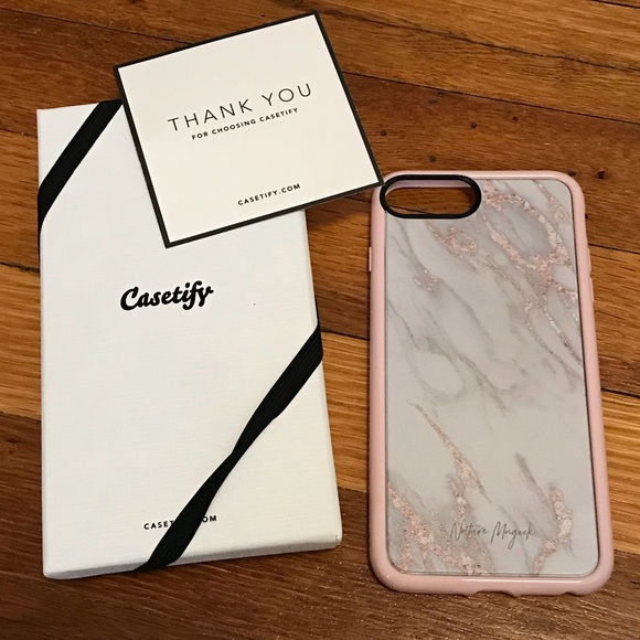 best loved 59f9a f257d Casetify Marble IPhone 7 Plus Case